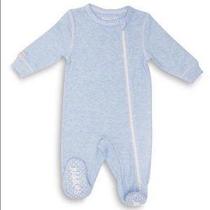 Juddlies Baby Toddler Cotton Sleeper 2-Way Zipper